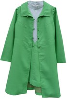 L'Autre Chose L Autre Chose Green Linen Dress for Women Vintage