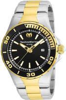 Technomarine TECHNO MARINE Techno Marine Mens Two Tone Bracelet Watch-Tm-215058