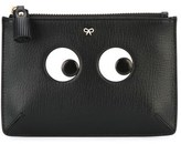 Anya Hindmarch Women's Black Leather Clutch.