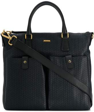 Zanellato front pocket tote bag
