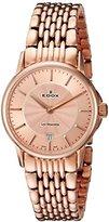 Edox Women's 57001 37RM ROIR Les Bemonts Analog Display Swiss Quartz Rose Gold Watch