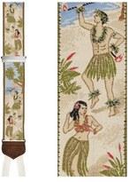 Trafalgar 'Polynesian Paradise' Silk Suspenders (Limited Edition)