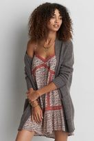 American Eagle Outfitters AE Pointelle Open Cardigan