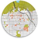 notNeutral Hollywood Porcelain City Plate