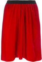 Etoile Isabel Marant 'Linore' velvet skirt - women - Silk/Cotton/Rayon/rubber - 38