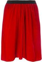 Etoile Isabel Marant 'Linore' velvet skirt
