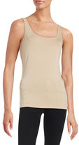 Lord & Taylor Petite Iconic Slim Fit Tank