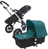 Bugaboo Cameleon 3 Stroller Black Base With New Extendable Sun Canopy (Petrol Blue) by