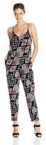 Vince Camuto Women's Sleeveless Marrakesh Tapestry Jumpsuit
