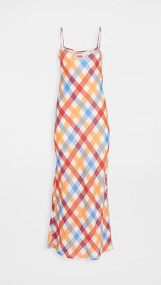 Solid & Striped Plaid Dress