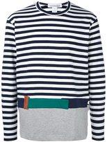 Comme des Garcons striped pullover - men - Cotton - L