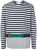 Comme des Garcons striped pullover