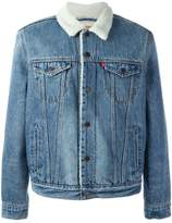Levi's Sherpa style denim jacket