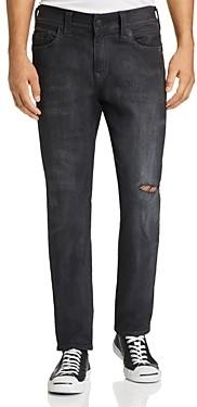 True Religion Rocco Skinny Fit Jeans in Dark Asteroid