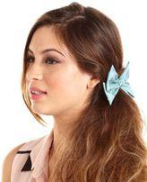 Charlotte Russe Polka Dot Bow Hair Clip