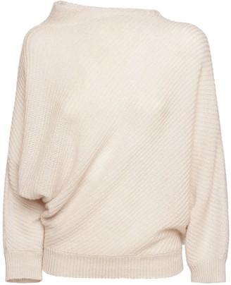 Agnona Cashmere & Linen Knit Sweater