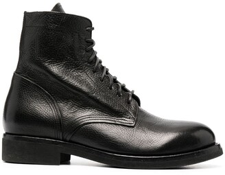 Buttero Maine lace-up boots