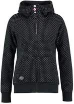 Ragwear CHELSEA DOTS ZIP Tracksuit top black
