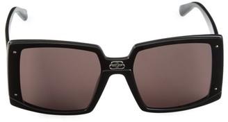 Balenciaga 99MM Oversized Square Sunglasses