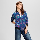 ISANI for Target Women's All Over Floral Printed Woven Bomber Jacket