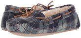 Minnetonka Plaid Cally Women's Slippers