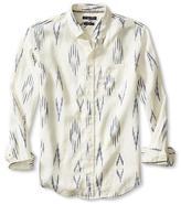 Banana Republic Camden-Fit Ikat Linen Shirt