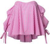 Caroline Constas checked blouse