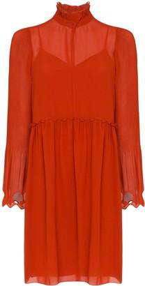 See by Chloe Embellished Georgette Dress