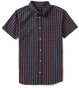 RVCA Slim-Fit That'll Do Plaid Short-Sleeve Shirt