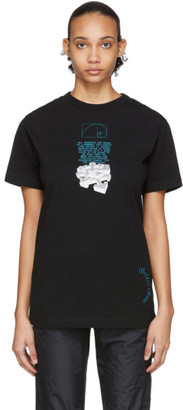 Off-White Black Dripping Arrows T-Shirt