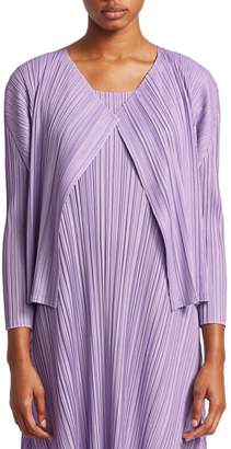 Pleats Please Issey Miyake Mellow Pleats Jacket