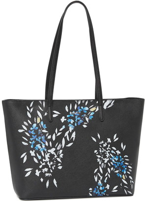DKNY Top Zip Leather Tote