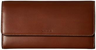 Lodis Audrey Under Lock Key RFID Luna Clutch Wallet (Sequoia/Papaya) Wallet Handbags