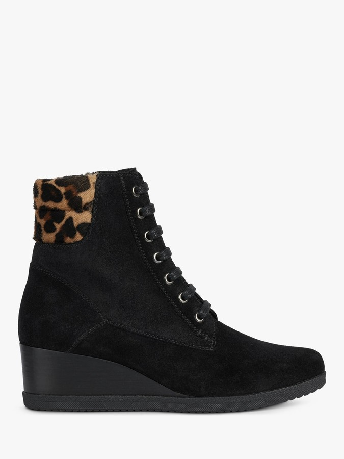 Suede Wedge Boots | Shop the world's