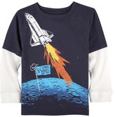 Andy & Evan Space Bandits Graphic T-Shirt, Size 3-24 Months