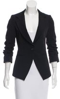 Elizabeth and James Asymmetrical Notch-Lapel Blazer
