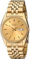 Seiko Men's SGF206 Dress -Tone Watch