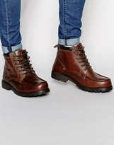 Red Tape Chunky Sole Boots