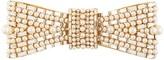 Dolce & Gabbana embellished bow-shaped brooch