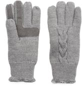 Isotoner Women's Cable-Knit Tech Gloves