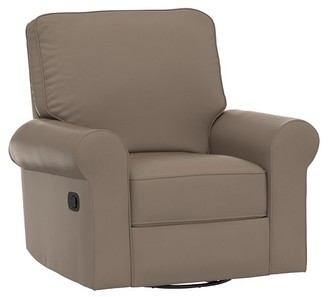 Pottery Barn Kids Small Comfort Swivel Glider Recliner