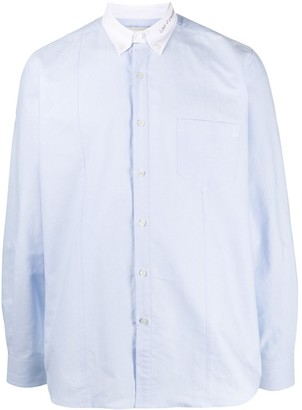 Golden Goose Contrast Collar Cotton Shirt
