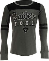 5th & Ocean Oakland Raiders Slub Long Sleeve T-Shirt, Girls (4-16)