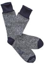 Corgi Marled Sock in Navy