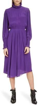 Etoile Isabel Marant Yescott Asymmetrical Hem Dress