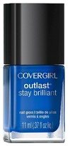 Cover Girl .37floz Stay Brillant Nail Color 101 Mutant