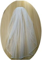 Fair Lady Women's 1 Tier Wedding Veil with Free Comb