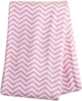 TREND LAB, LLC Trend Lab Pink Chevron Deluxe Swaddle Blanket
