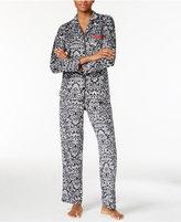 Ellen Tracy Printed Pajama Set