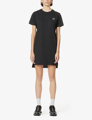 Kenzo Logo-print cotton-jersey mini dress